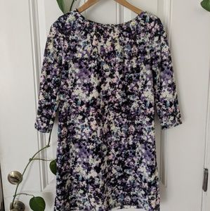 H&M 3/4 Sleeve Shift Dress